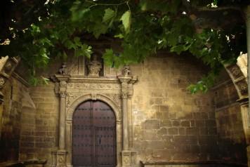 Iglesia San pedro Aibar Navarra